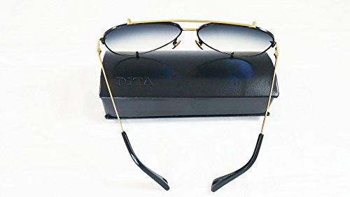 Aviator montura 23007 Gafas sol lente en Dita con Talon de dorada negra gris y 5xpqnZAU0