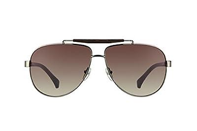 Calvin Klein Sunglasses 1186 031 Iron Brown Brown Gradient