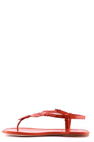 Moncler Infradito Donna MCBI212005O Pelle Rosso
