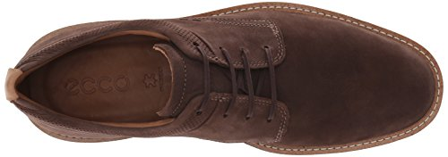 ECCO Men's Jeremy Tie Oxford Coffee Plain Toe discount newest clearance 2015 new ebay cheap outlet feYOyV