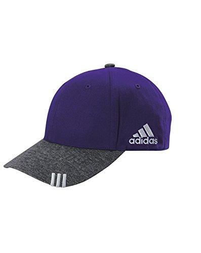 adidas Golf Unisex Collegiate Heather Cap (A625) -Purple/DK -OS