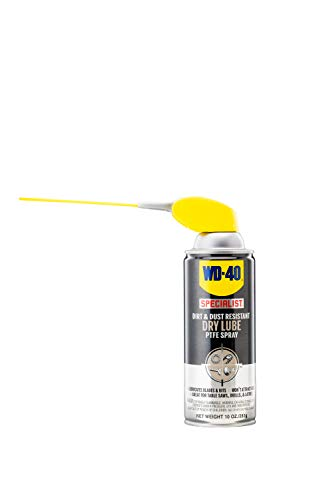 WD-40 Specialist Dirt & Dust Resistant Dry Lube PTFE Spray