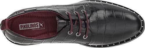 Derby Donna Pikolinos i18 W2u Black Scarpe Caravaca Stringate Nero black w11UHFPqXx