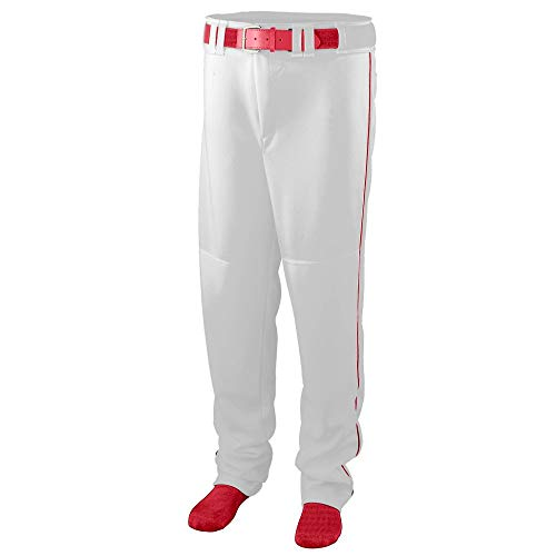 baseball pants with red piping - 3