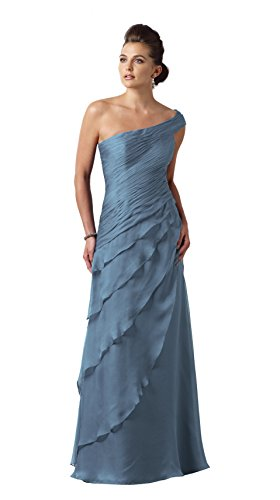 Plus Size Mother of the Bride Dress by Montage 112910 (Size 20, Wedgewood Blue)