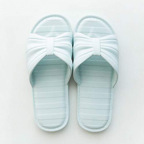 Pantofole Bottom Summer Estate Di Antiscivolo Zhiling Bath Bedroom Infradito Cool Student Signore Delle Plastic Bagno Blu Da Soft Marca Ciabatte gETgavqwy4