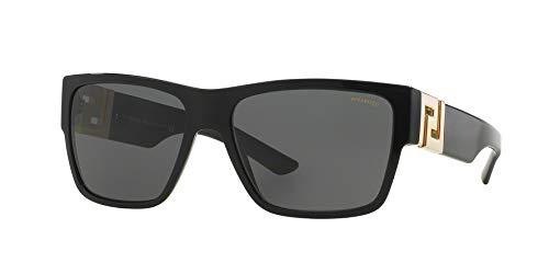 Versace Man Sunglasses, Black Lenses Acetate Frame, ()