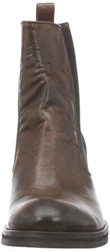 BUNKER Booty - botas de cuero mujer marrón - Braun (JAVA CUERO)