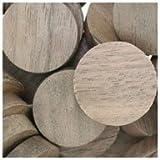 WIDGETCO 1'' Walnut Wood Plugs, Face Grain