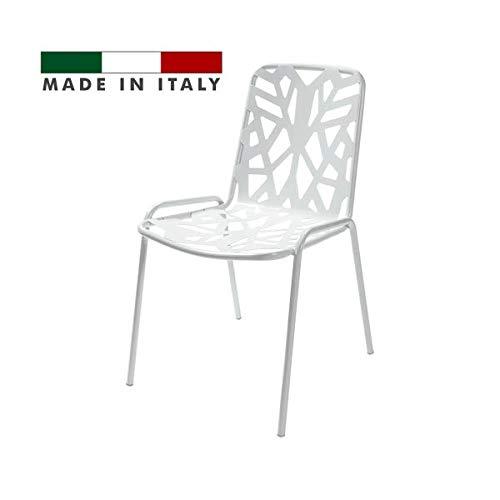 Rd Italia Silla Apilable Diseño Moderno Con Decoración De