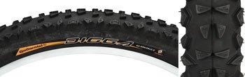 Continental Tire Bike 26x2.5 Mtb Continental Digga 2.5 Blk Wire Bead