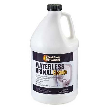 Waterless Urinal Cleaner, Clear, 1 gal.