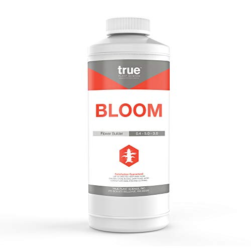 True Bloom Bud Builder & Flower Hardener Plant Nutrient Supplement, Triggers Fast Flowering Quart (32 oz)