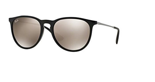 Ray Ban RB4171 601/5A 54M Black/Light Brown Mirror Gold+FREE Complimentary Eyewear Care - Wayfarer Gold Ray Ban