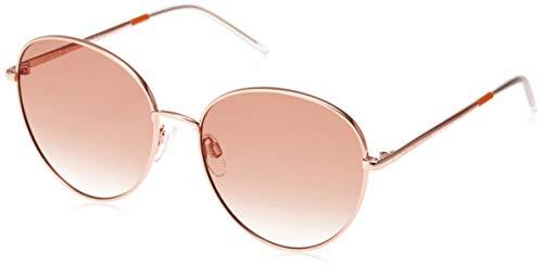 Tommy Hilfiger Women's TH1649S Round Sunglasses, Gold Orange, 58 ()