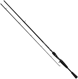 Daiwa EXE661MHXB Medium Heavy Action Exceler Casting Rod (1-Piece), 6-Feet 6-Inch, Black