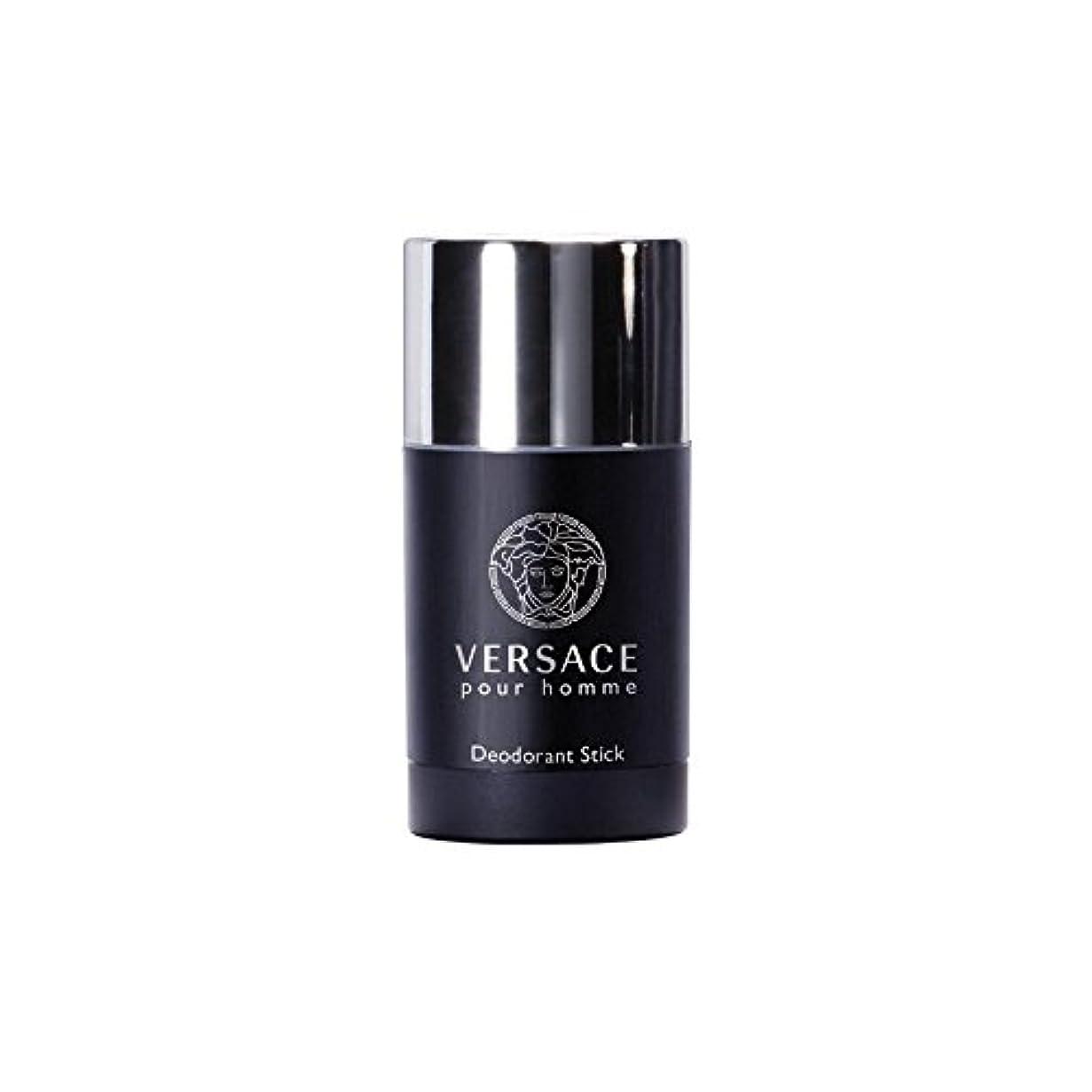 君主うなずくたくさんのVersace Pour Homme Deodorant Stick (75ml) (Pack of 6) - ヴェルサーチプールオムデオドラントスティック(75ミリリットル)を注ぎます x6 [並行輸入品]
