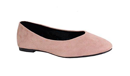 Mujer Rosa para Bailarinas Shoes by wASqz1O