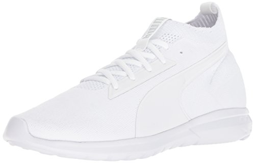 PUMA Men's Vigor Evoknit FS Sneaker, White, 9.5 M US
