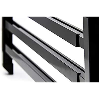 Camco 43976 RV Screen Door Push Bar, Black - Adds Strength and Stability to Your Screen Door - Prevents Torn Screens: Automotive