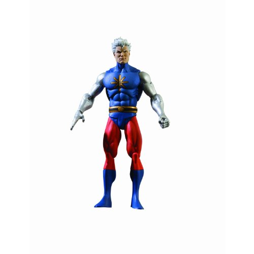 History of the DC Universe: Series 4: Captain Atom Action (Nightwing The Series Costume)