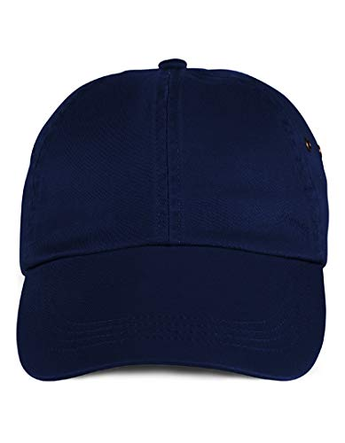 Anvil Solid Low-Profile Twill Cap OS Navy