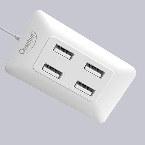 Quantum QHM6633 4 Port Hi Speed USB Hub  Multicolor