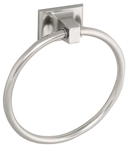 Mill Bridge Towel Ring - Finish: Satin Nickel