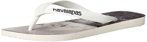 Havaianas Mens Hype Sandal Vippan Vit / Vit / Grå