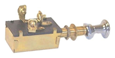 Sierra MP39580 Heavy-Duty Push-Pull Switch - Off-On(1)-On(1&2) SPDT ()