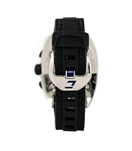 Chronotech herrklocka CT7926M/10 Obl?C med svart läderrem