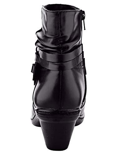 Schwarz amp;Mathilda mit Modischen Stiefelette Mae Zierbändern CPwqACY