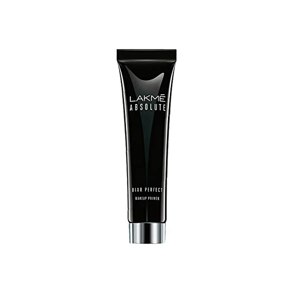 Lakmé Absolute Blur Perfect, Makeup Primer- Matte Effect, Water Proof Formula, 30 ml 2021 July The Lakmé absolute blur perfect makeup primer is the perfect start for a flawless, professional makeup finish Creates the perfect base for makeup and helps it stay on for longer, Waterproof formula ensures makeup stays on throughout the day Hides skin imperfections and gives you an even toned skin