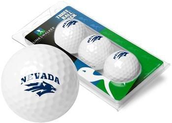 NCAA Nevada Wolfpack - 3 Golf Ball Sleeve