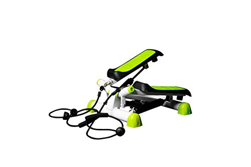 Twist Fitness Stepper Step Machine with Resistance Bands for Fitness & Exercise