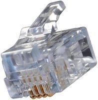 - EMERSON CONNECTIVITY/AIM CAMBRIDGE 32-5954UL CONNECTOR, RJ11, PLUG, 1PORT, 6P4C (50 pieces)