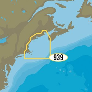 C-MAP MAX-N+ NA-Y939 - Passamaquoddy Bay to Block Island [NA-Y939]