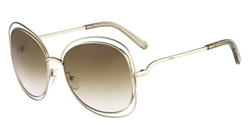 Chloe 119 733 Gold 119S Butterfly Sunglasses Lens Category 2 (119s)
