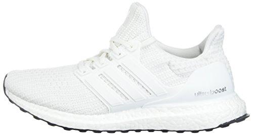 adidas Men's Ultraboost Road Running Shoe, White/White/White, 7 M US by adidas (Image #5)