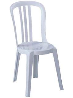 Neuf Grosfillex Miami Bistro Confortable Chaise Monobloc Design Empilable Chaises