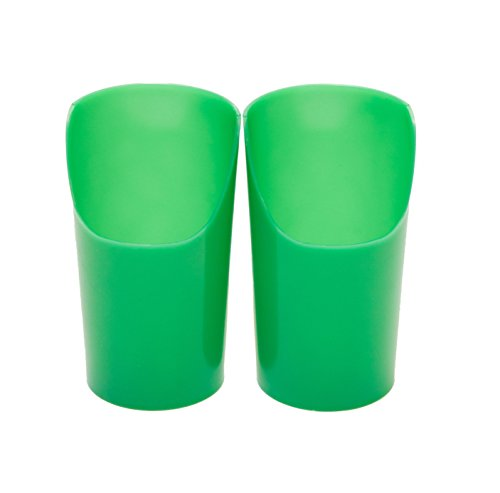 Flexi-Cut cups, Large/Green (7 oz.) - 5 pack