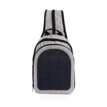 Solar Storage Bag Voltaic Converter Backpack Battery Executive Powered - - Powerd Battery Cameras