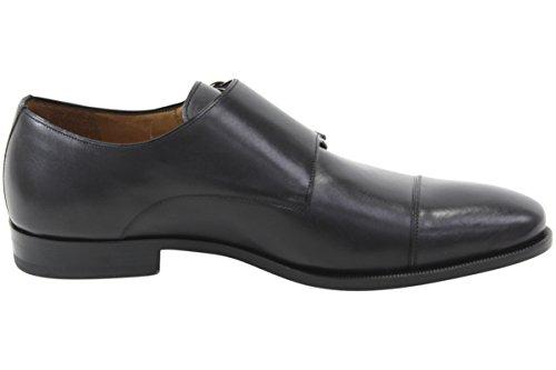af1c2e7a90fd6 Mezlan Men's Rosales Black Double Monk Strap Shoe - 12 D(M) US