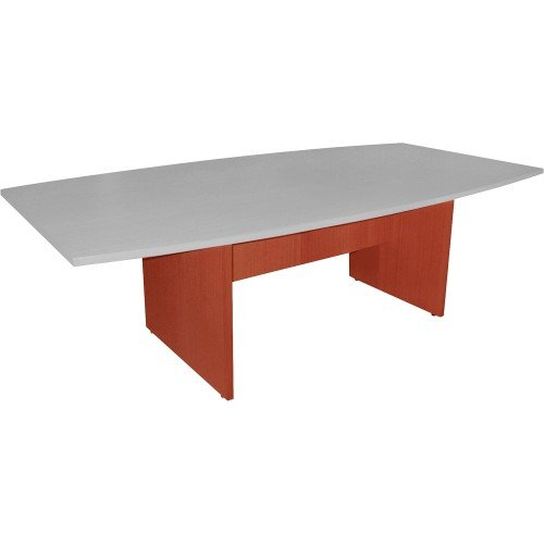Lorell Conference Table Base, 28-Inch, Cherry by Lorell