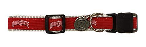 Sporty K9 NCAA Dog Collar, Ohio State Buckeyes Medium/Large