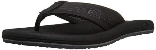 Cobian Men's OTG Flip-Flop, Black, 11 M US