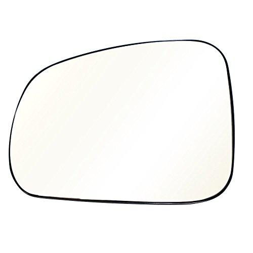 Mirror Left Door Prix Grand (Titanium Plus 2005-2008 Pontiac Grand Prix Front,Left Driver Side DOOR MIRROR PLATE)