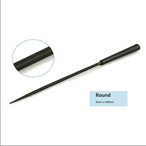 10PCS//Set Needle File Diamond Wood Carving Model Metal Glass Stone Craft Color : 5180mm