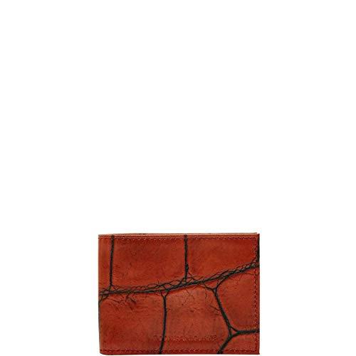 - Dooney & Bourke Men's Croco Billfold, Cognac 8952-4
