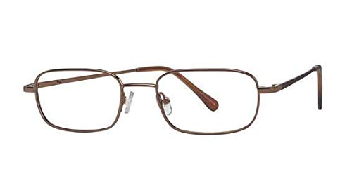 Hilco SG302 Safety Glasses Full Rimmed Metallic Frames in Rectangle Shape Offered in Bronze, Gold Tortoise & Pewter color from Eyeweb ()